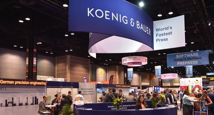 Koenig & Bauer Presenting at PRINT 19