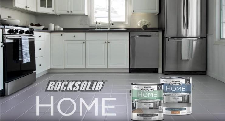 Rust-Oleum Releases RockSolid HOME