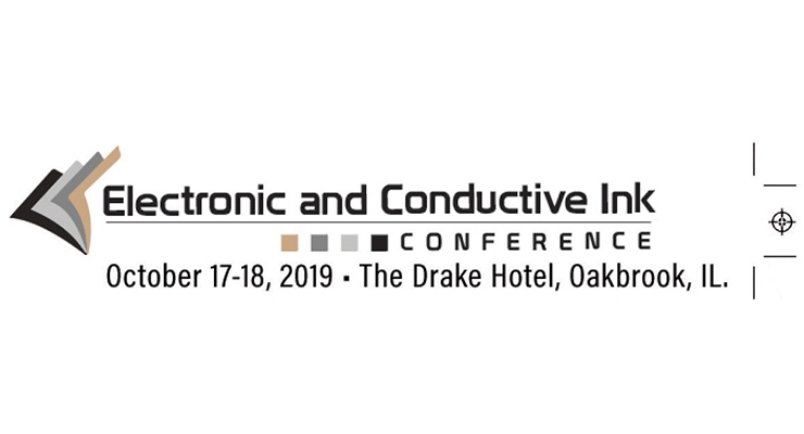 Conductive Inks Conference Set for Oct. 17-18