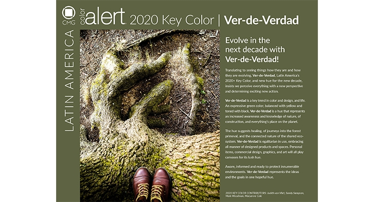 Color Marketing Group Reveals 2020 Key Colors