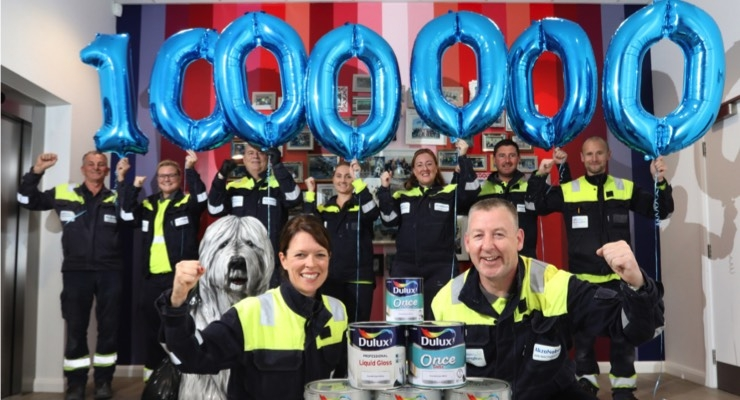 AkzoNobel Ashington Site Turns 2, Produces 1 Million Liters of Paint in 1 Week