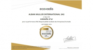 Alban Muller Awarded Gold Status