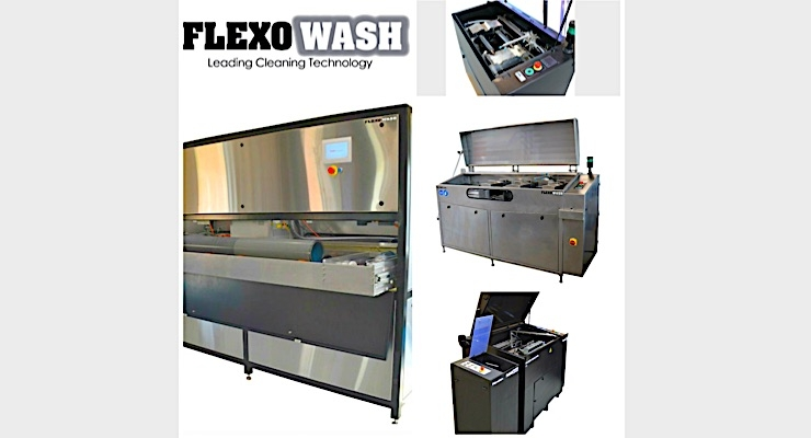 Flexo Wash launches new sustainable technologies