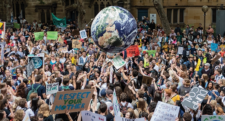 Climate Strike Hits the Industry