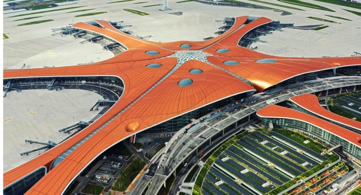 Osram Supplies Lighting for World's Largest Airport