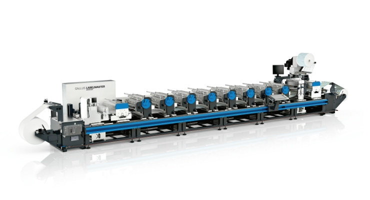 Gallus presents Labelmaster with Quick Change Diecutting Unit