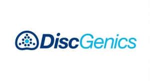 NASS News: DiscGenics Announces Publication of Preclinical Data for Disc Degeneration Treatment