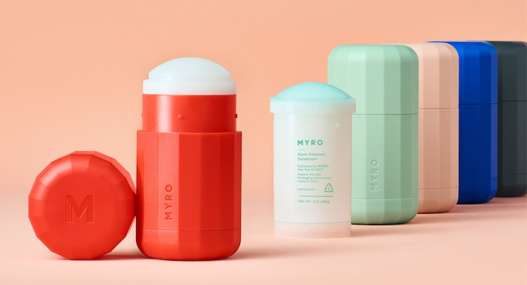 Myro Refillable Deodorant Launches at Target