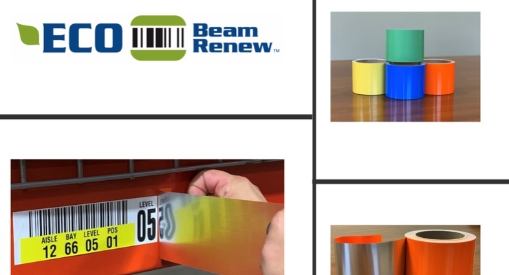 ID Label introduces linerless Eco Beam Renew