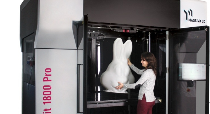 Massivit 3D Showcasing Large Format 3D Printing at Printing United 2019