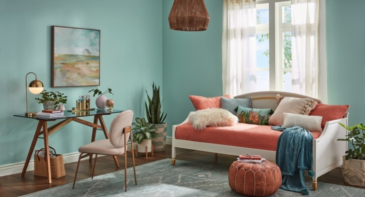HGTV HOME by Sherwin-Williams Reveals 2020 Color Collection, Color of the Year