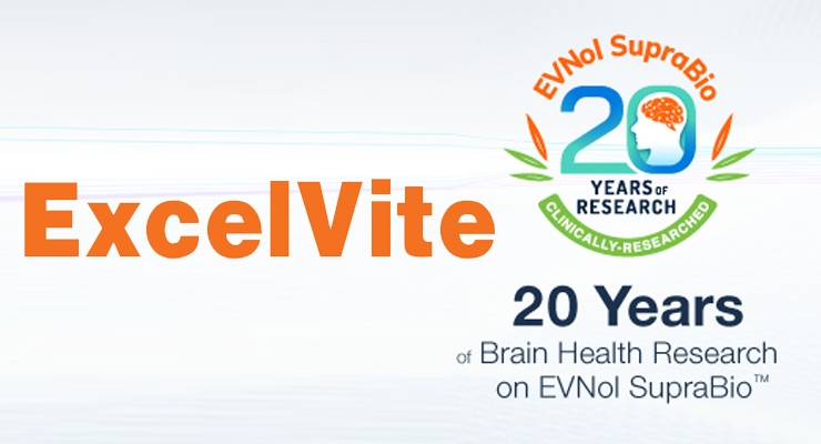 "ExcelVite Hosts ""20 Years Of EVNol® & Brain Health Research""  Breakfast Seminar At SupplySide West"