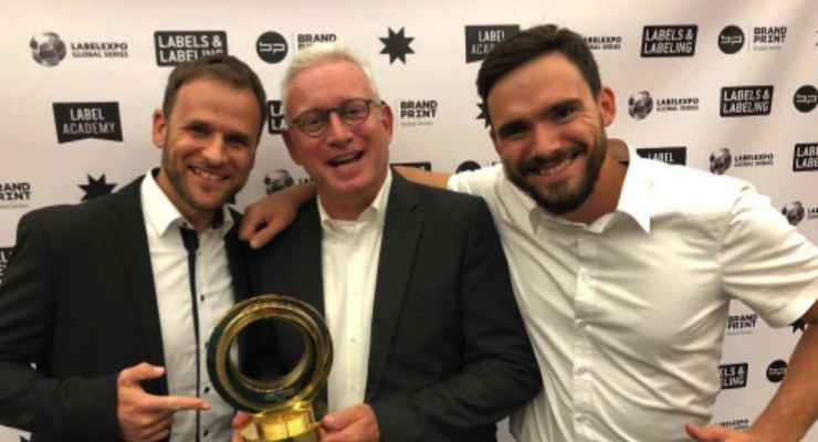 GMG wins Label Industry Global Award for Innovation