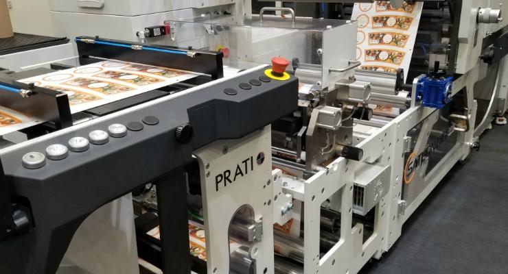 Prati exhibits latest products