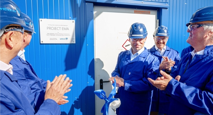Synthomer Inaugurates New Production Capacity