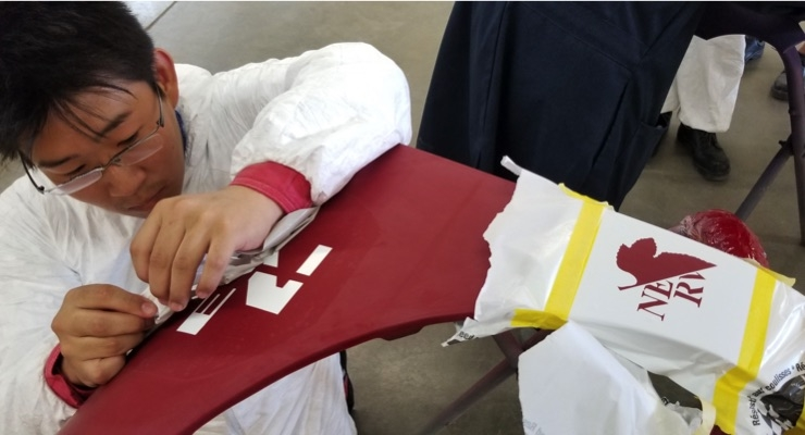 BASF Holds Immersion-style Auto Refinish Study Program for Japanese Students
