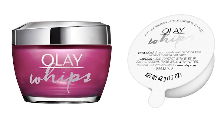 A Look at Olay's First Limited Edition Refillable Moisturizer Package