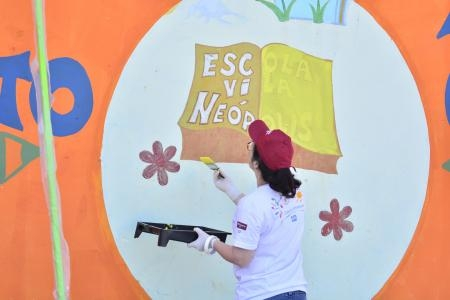 PPG Completes COLORFUL COMMUNITIES Project at Vila Neópolis School