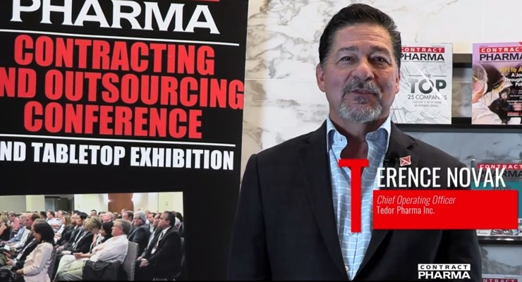 VIDEO: Tedor Pharma's Terry Novak