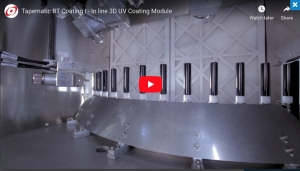 BT Coating I - In-line UV Coating module
