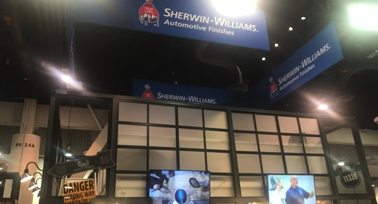 Sherwin-Williams Supporting SCRS Repairer Driven Education Series at SEMA