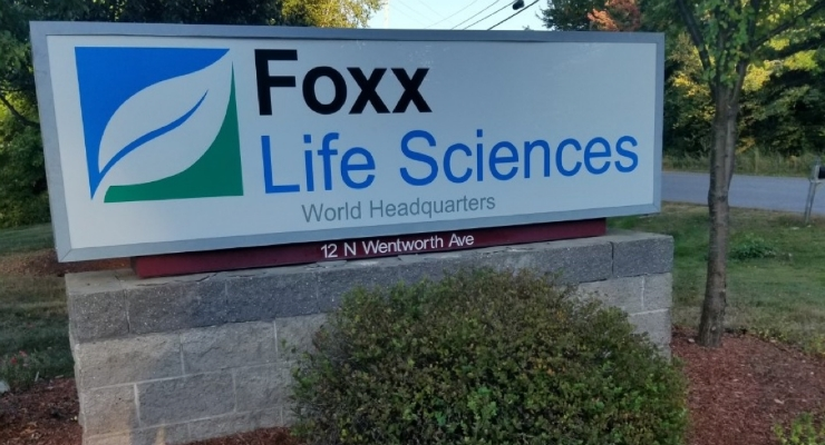 Foxx Life Sciences Expands to New Headquarters and Distribution Center