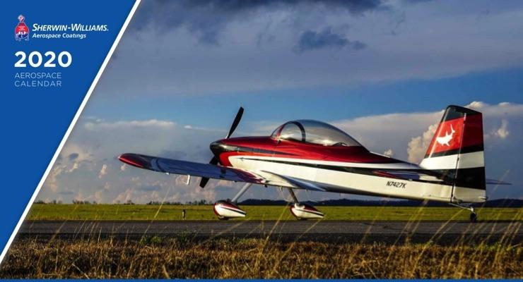 Sherwin-Williams Releases 2020 Aerospace Coatings Calendar