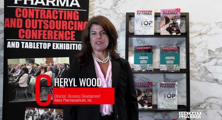 VIDEO: Adare Pharmaceuticals' Cheryl Wood