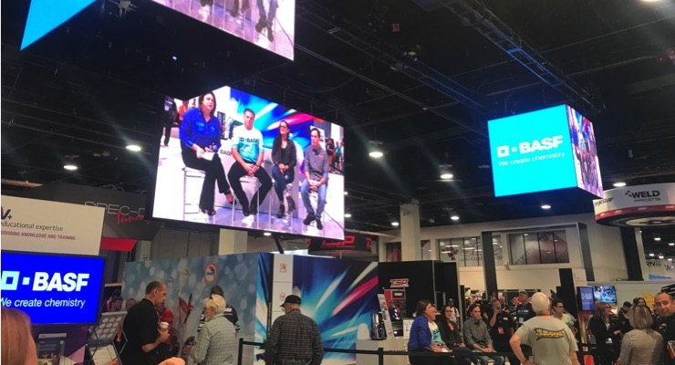 BASF Educating Shop Owners on Key Factors for Long-term Success at SEMA 2019