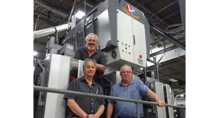 Colbert Packaging Installs Eco-Eagle Cold Foil on a Ryobi Press