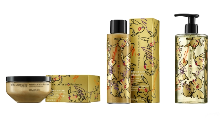 She Uemura Art of Hair Collaborates with Pokemon