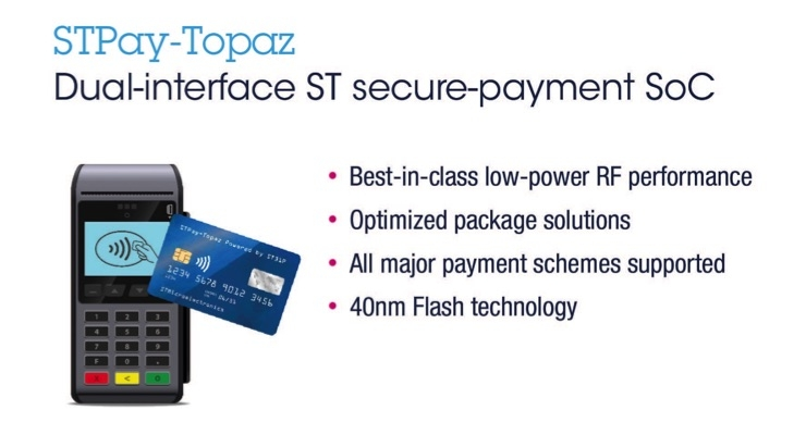 STMicroelectronics Launches Next-Gen Payment System-on-Chip