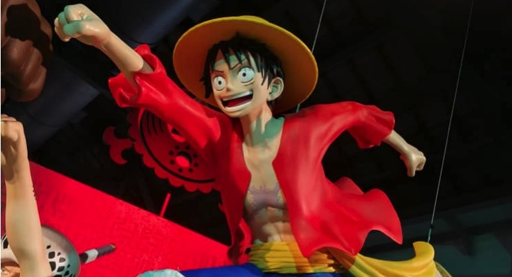 One Piece Manga Characters Printed in 3D with Massivit for 20th Anniversary