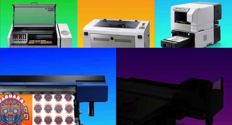Roland DGA Showcasing 10 New Products at Printing United 2019