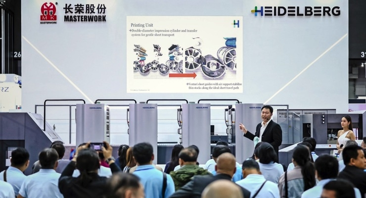 Heidelberg Showcases Packaging Printing Solutions at 3 Events in Asia