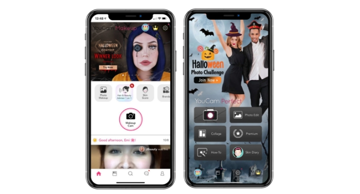 YouCam Reveals Halloween Costume Makeup Collection
