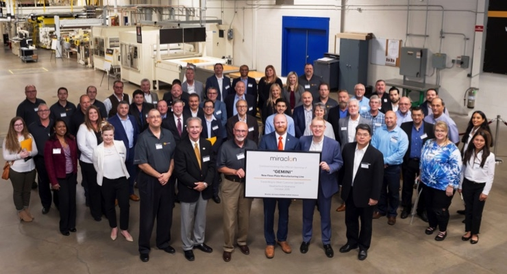 Miraclon opens second flexo plate manufacturing line