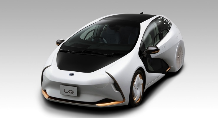 Toyota Concept Car Adopts OLED Developed by Denso, JOLED