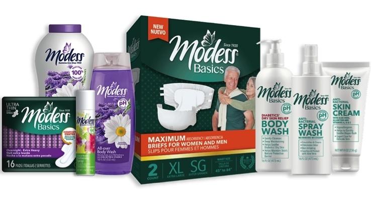 Modess Femcare Brand Relaunches