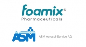 Foamix Enters Contract Manufacturing Agreement