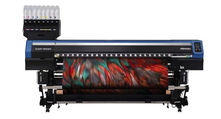 Mimaki USA Launches Next-Gen TX300P- 1800 MkII Dual-Capability Textile Printer