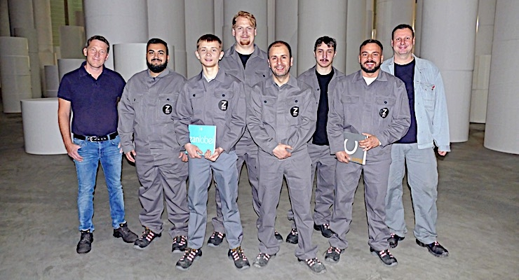 Zanders adds six new apprentices
