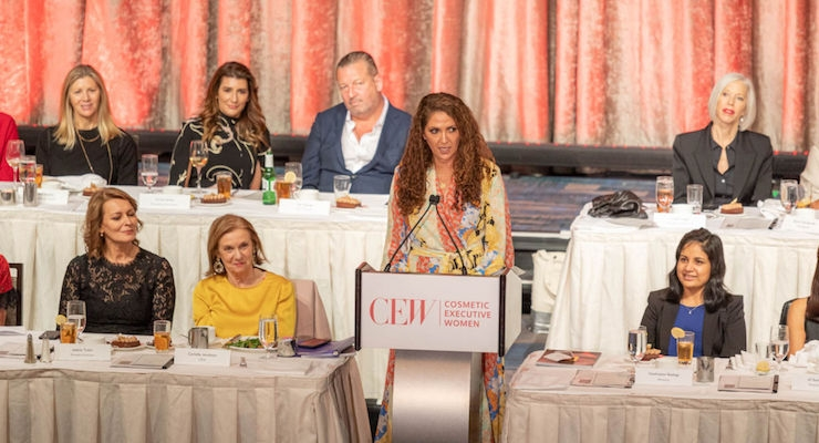 CEW Honors Women's Achievements in Beauty 2019