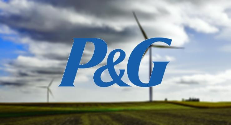P&G Reaches Renewable Electricity Goal