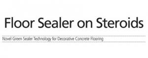 Floor Sealer On Steroids