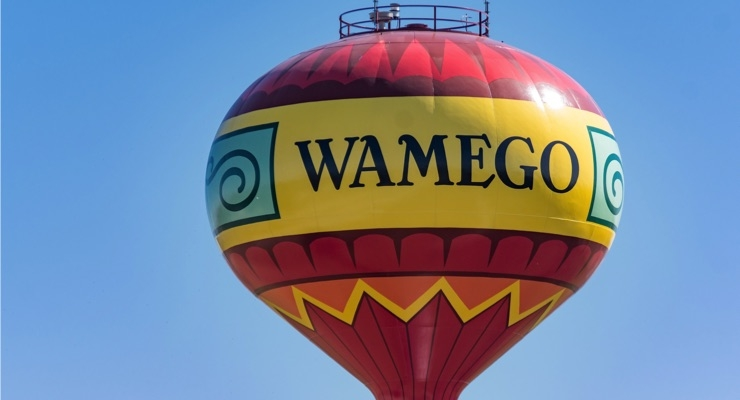 Wamego, Kansas Water Tank People's Choice, 2019 Tank of the Year Winner