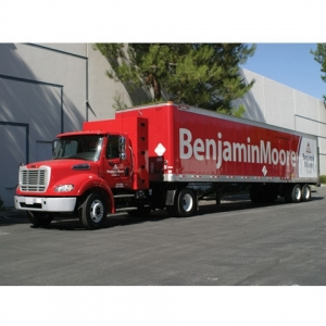 Benjamin Moore inaugurates sustainable fleet