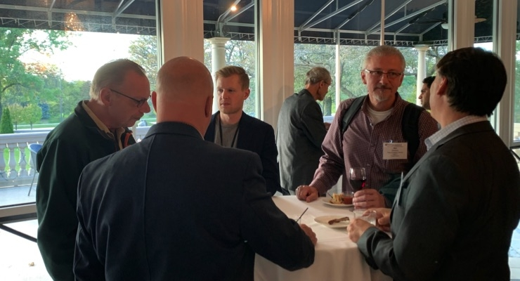 Scenes from the 2019 Electronic and Conductive Ink Conference