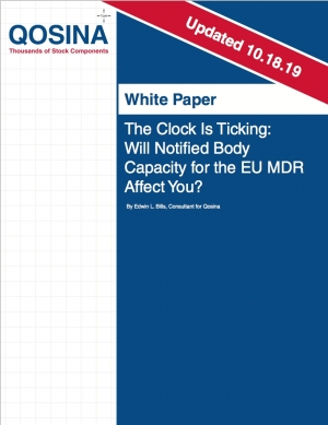The Clock Is Ticking: Will Notified Body Capacity for the EU MDR Affect You?