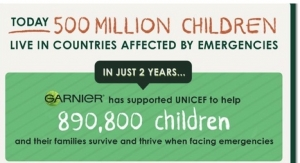 Garnier Raises Funds for UNICEF